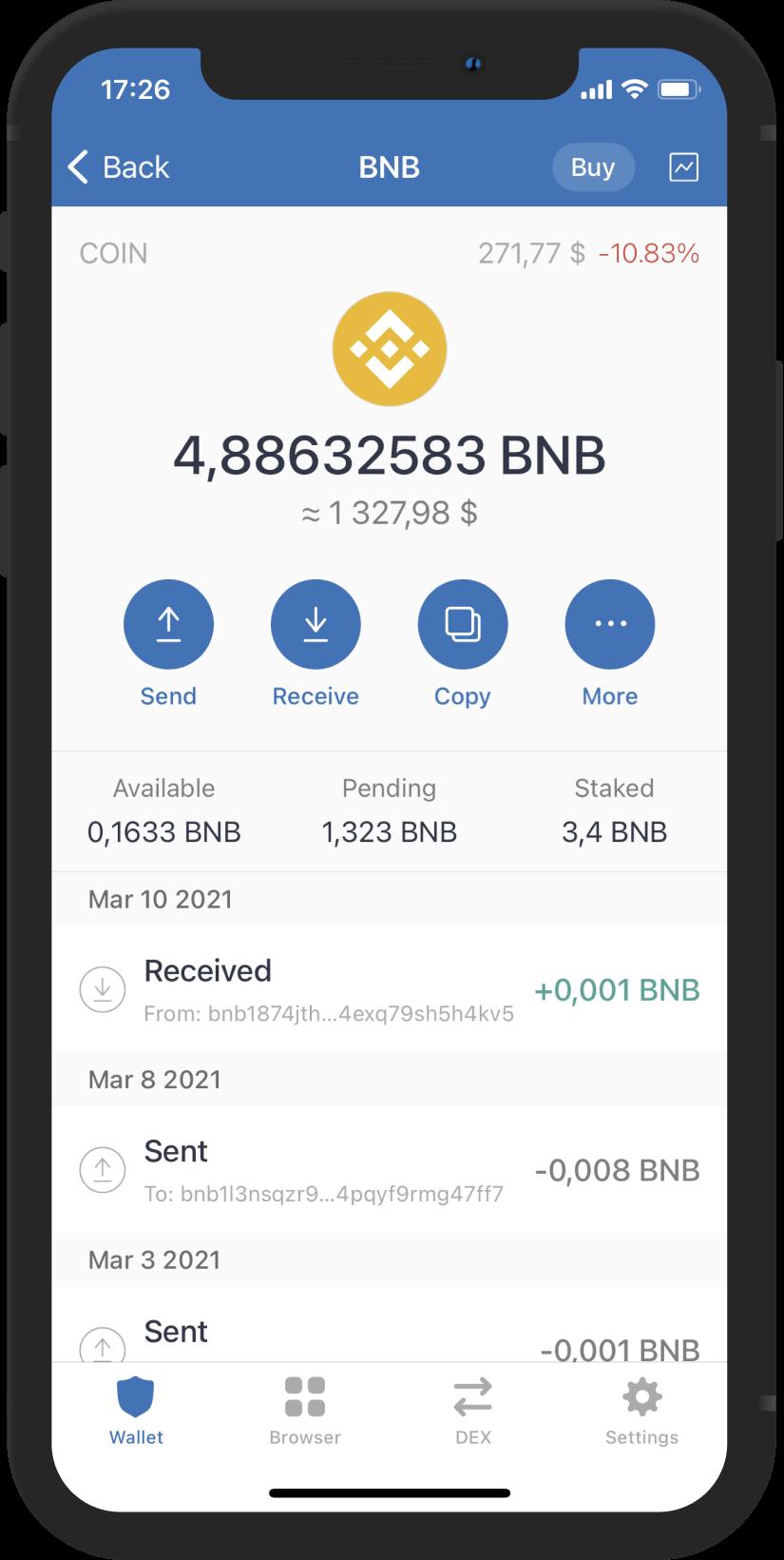 So kaufen Sie Bitcoin auf der Trust Wallet App