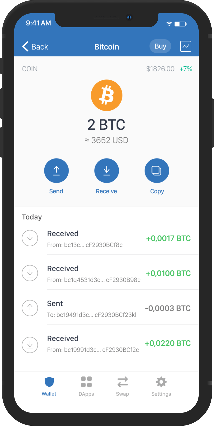 bitcoin wallet without downloading blockchain