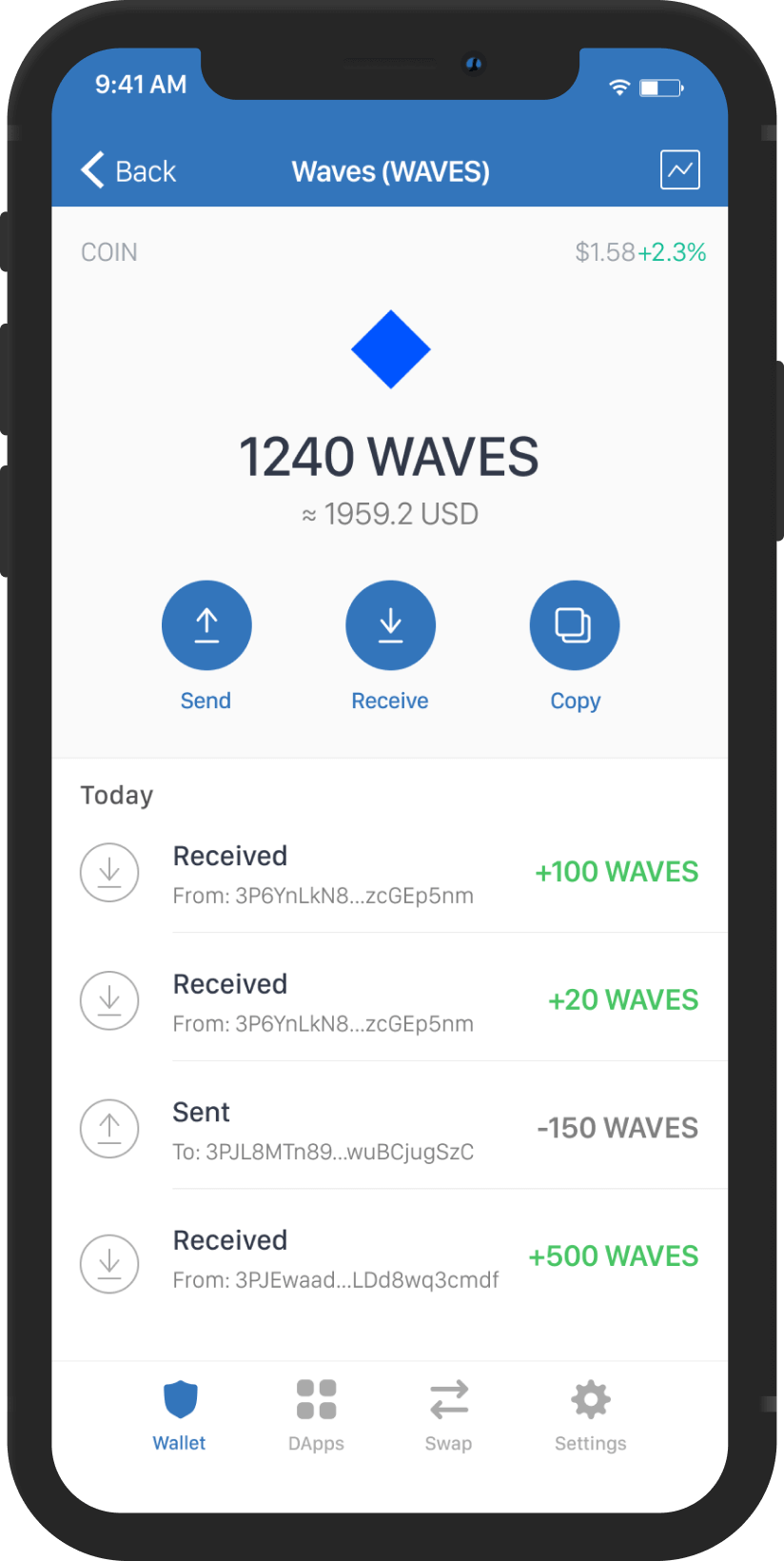 how do i buy waves cryptocurrency